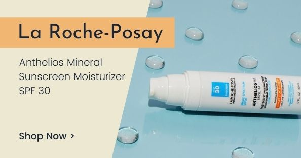 La Roche-Posay Anthelios Mineral Sunscreen Moisturizer with SPF 30