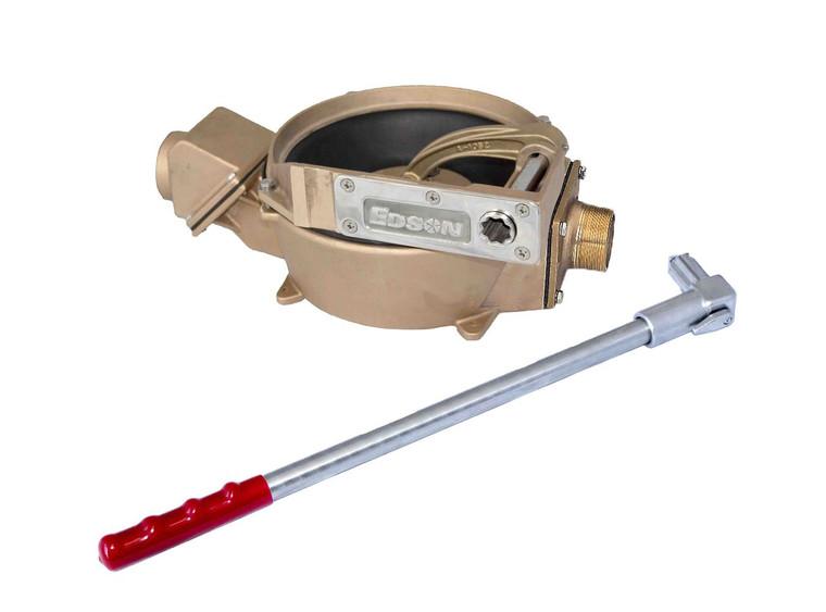 557 Manual Offset Drive Side Inlet Pump - Bronze (55722)