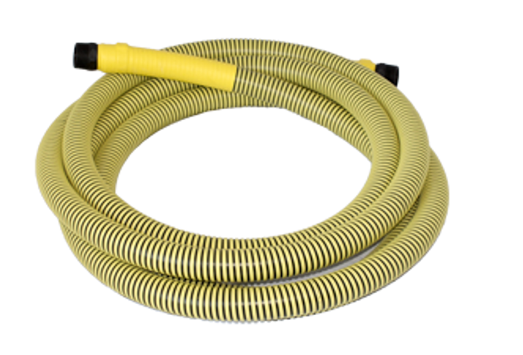 """Hose - Pumpout Replacement - 100' With 1.5"""" Male NPT Fittings (262-100-150)"""
