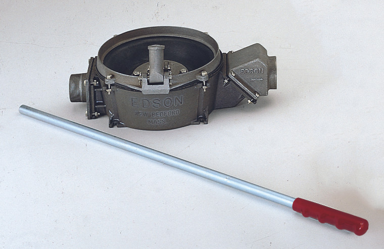 """117AL Manual Side Inlet Lever Action Pump (1.5"""" Intake and Discharge) - Aluminum"""
