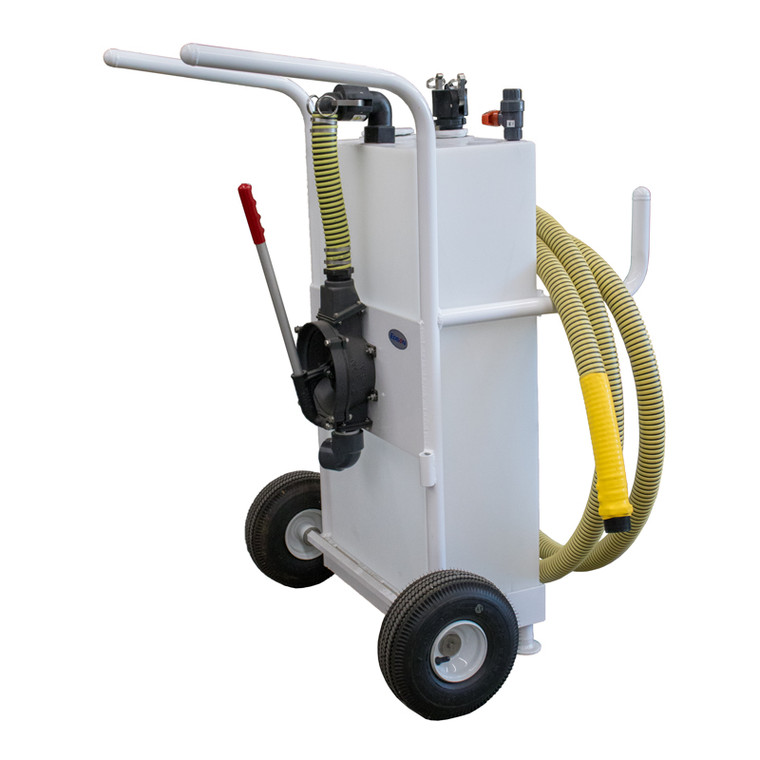 Pumpout Caddy - 25 gallon  Wast Collection Cart (28202)