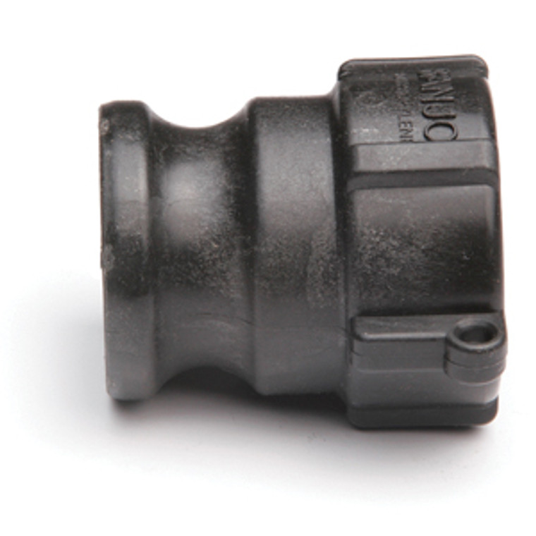 """Quick Clamp Adapter - 2"""" Male QC x 2"""" FNPT - Polypropylene (158MF-200NY)"""