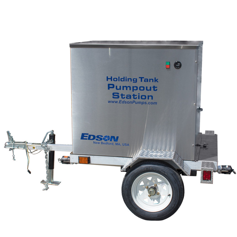 Portable Pump Trailer (161-A-3308)