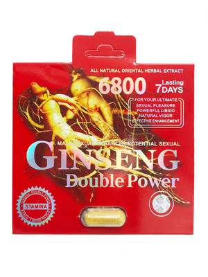 Ginseng 6800 Double Power