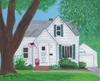 Maher House 1 Folk Art Custom Painting