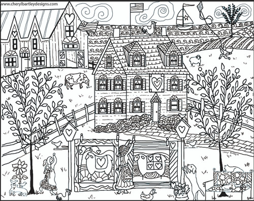 Mama's Sheep Farm FREE Coloring Craft Page