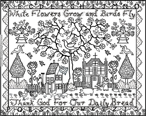 Daily Bread FREE Coloring Craft Page