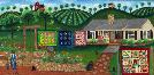 Donna's Custom Country Quilt House Painting