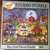 SPOOKY STREET 500 masterpieces puzzle Folk Art by Cheryl bartley