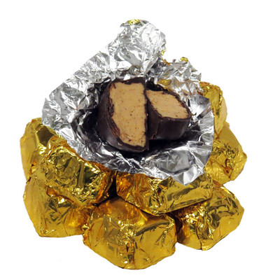Peanut Butter and Chocolate Perfection!  Exceptional 60% Dark Chocolate Covers our Creamy Peanut butter filling. Their over the top peanut butter flavor will create a chocolate and peanut butter explosion in your mouth. their always a Favorite!