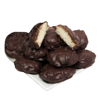 Dark Chocolate Covered Coconut Pineapple Macaroons