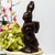 (Solid 1 1/2 lbs  60 % Dark Chocolate or Milk Chocolate Bunny