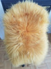 Original Genuine Dyed Orange Sheepskin Rug Fur Carpet