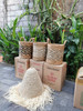 Handwoven Baskets From Bali Made By Rattan And Natural Pandan Leaf