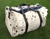 This cow skin handbag is custom made very beautiful in black white cow skin with fair prices and great quality