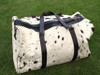 You will absolutely love this cow skin overnight bag beautiful and perfect Christmas gift daughter will love it Perfectly described, added white is perfect