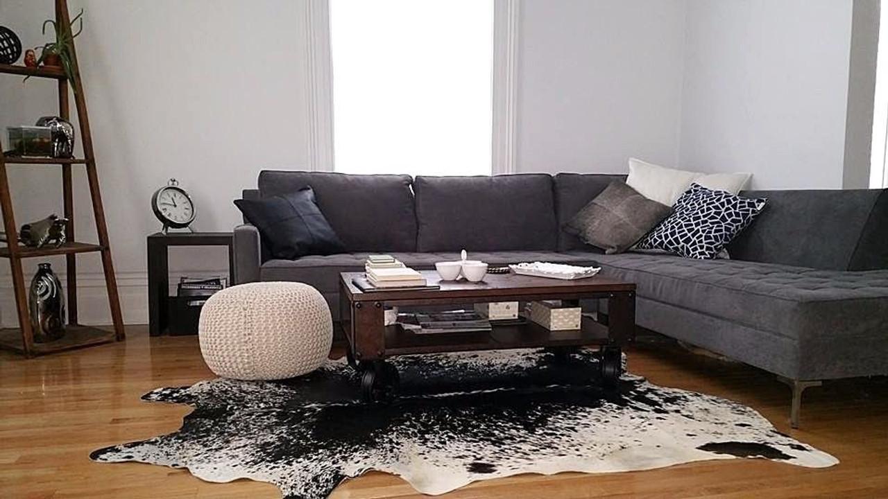 Cowhide Rugs Upholstery