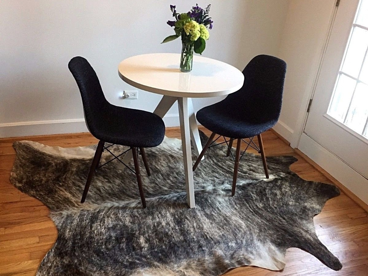 6x6 cowhide rug for living room