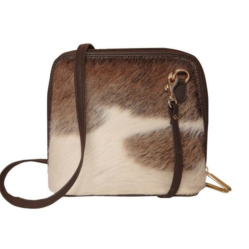Cross Body Fur Bag.