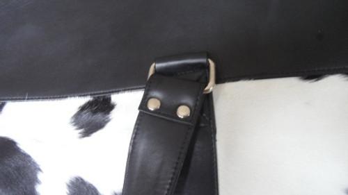 Cowhide Duffel Bag