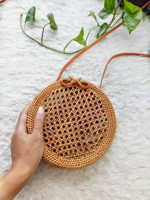 Rattan Vintage Bag Made In Bali