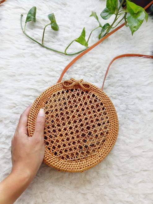 Rattan Vintage Bag Made In Bali