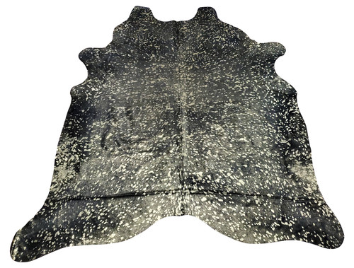 This beautiful black metallic cowhide rug is a stunner it will bring out the charm in any space, perfect for high traffic areas.