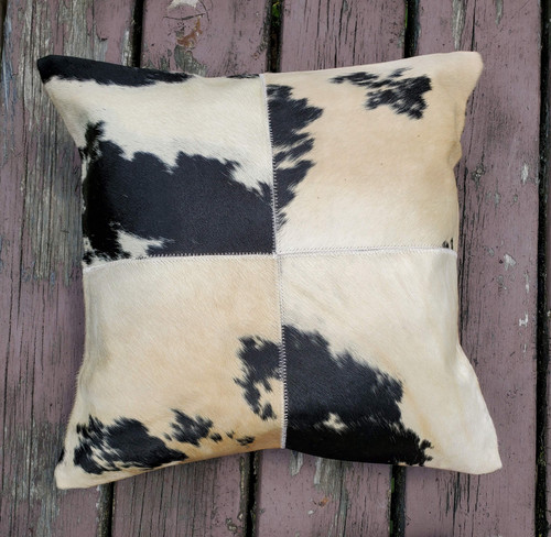 This is a fantastic natural pillow cover; looks exactly as pictured and described, love the contrast between the white and black and the texture.