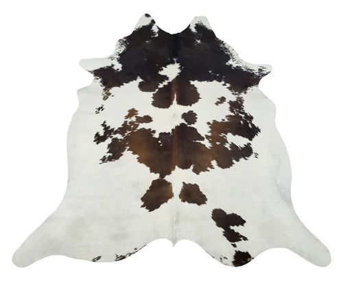These spotted real tricolor cowhide rugs are highly desirable as floor covering and great for high traffic areas in homes, offices or even boutiques.