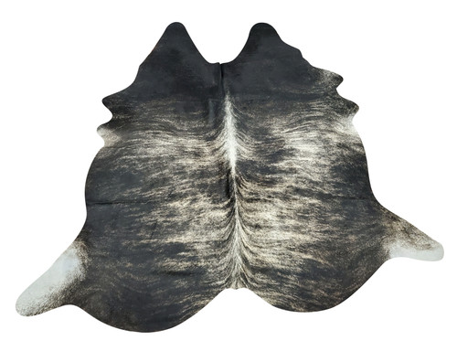 You can mix brindle cowhide rugs with on top of other rugs, natural grey gives modern touch to your living room