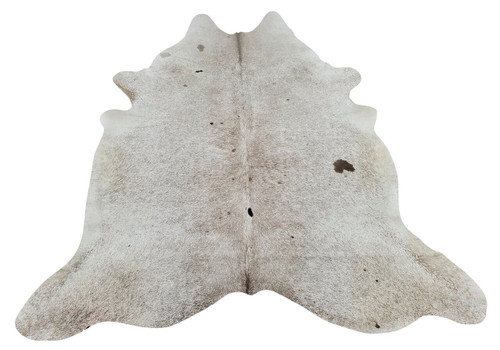 The colors were bright of XL cowhide rug, perfect to put under table and still have plenty of cow hide showing on outer edges.