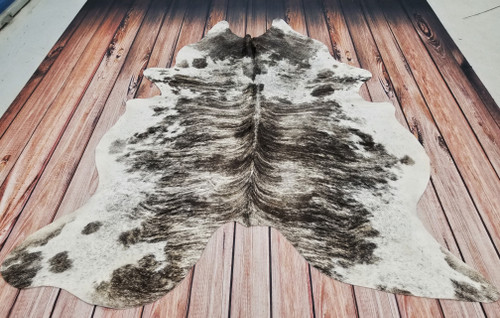 Brazilian real cowhide rug