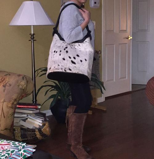 Real Cowhide Bag