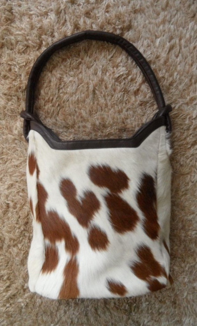 Cowhide Cross Body Purse