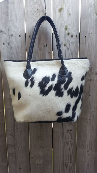 We have large selection of cowhide tote bag
