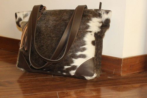 Hair On Cowhide Cross Body Bag