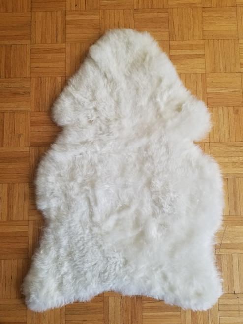 Natural Sheepskin Rug for Babies