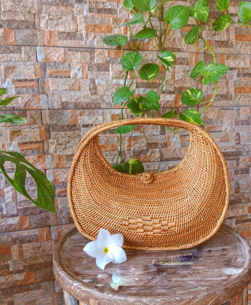 Rattan Bag Online Handwoven In Bali
