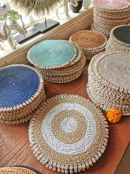 I love these rattan placemats all these are handmade in Bali, you will absolutely adore natural placemats rattan round exactly as shown