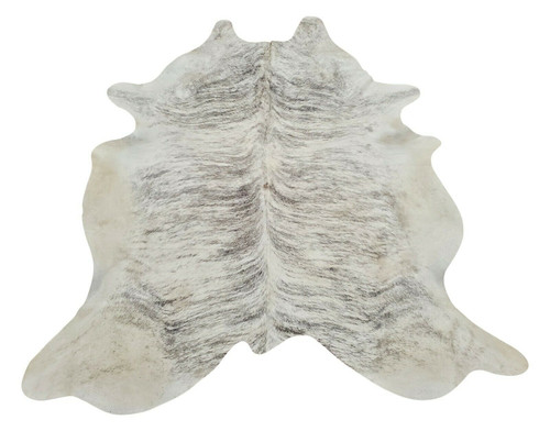 This ivory cowhide rug is a piece of art, it will add elegance and charm to any room in your home or even surprise your friends.