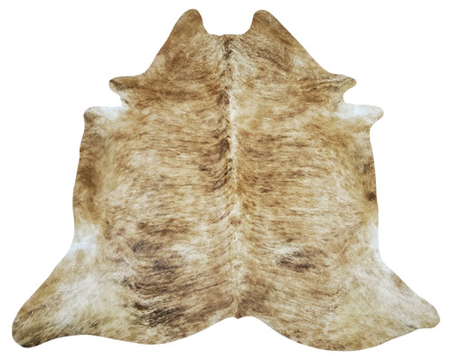 Our cowhide rugs are of high quality and can last you for decades this brindle white belly is perfect for modern farmhouse and attach it to your wall.  It's Great brindle cowhide rug you wouldn't need to look anywhere else of cowhides