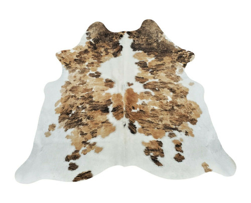 These small cowhide rugs are amazing if you have pets or kids running around your interior, natural hair on hides are easy to clean and long lasting.