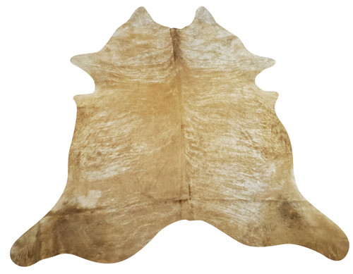 What a stunning beautiful beige brindle cowhide rug in an extra large size, this will be in a total agreement with the space, art and home office or living room.