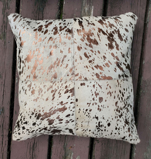 These cowhide pillows are exactly what a living room or modern farmhouse requires it is also quite functional and comfortable.