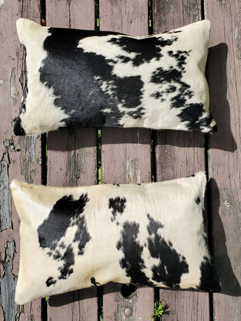 Beautiful natural cowhide pillow in Canada