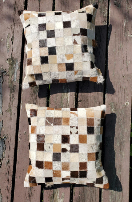 These cowhide pillow covers are made with high-quality material, very soft, craftsmanship is every bit great and brings the vibrancy to the room