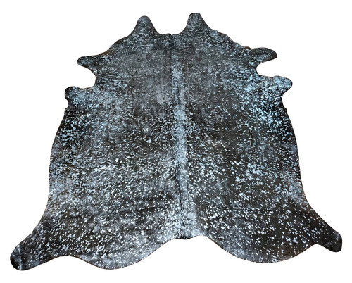 If you have a neutral furniture and needs an uplift, add a beautiful silver metallic cowhide rug and it will add a stunning character to your space.