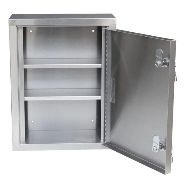 Omnimed Single Door Narcotic Cabinet (Open)