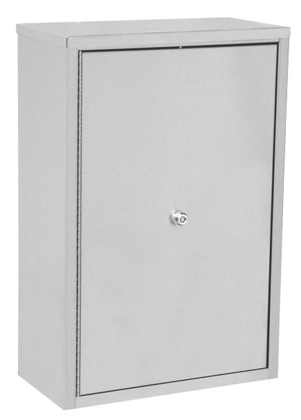"Double Door Narcotic Cabinet W 4 Shelves (30""H X 22""W X 12""D)"