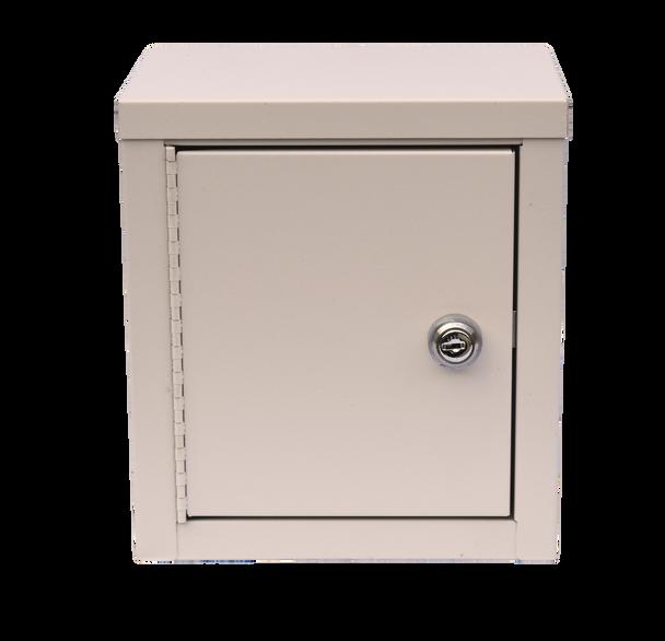 "Mini Double Door Economy Narcotic Cabinet (9""H X 8""W X 5 5⁄8""D)"